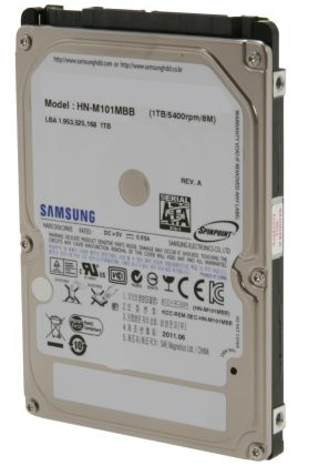 "Hitachi 500 GB SATA 5400 RPM 8MB 2.5"" Laptop Drive"
